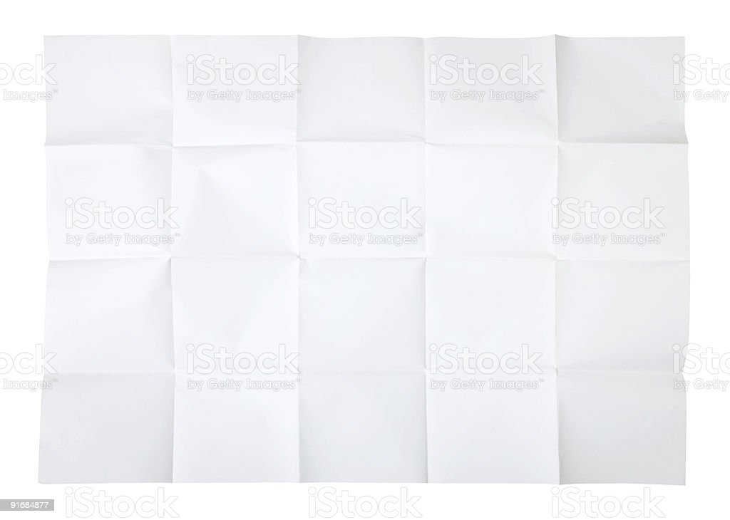 Blank map stock photo