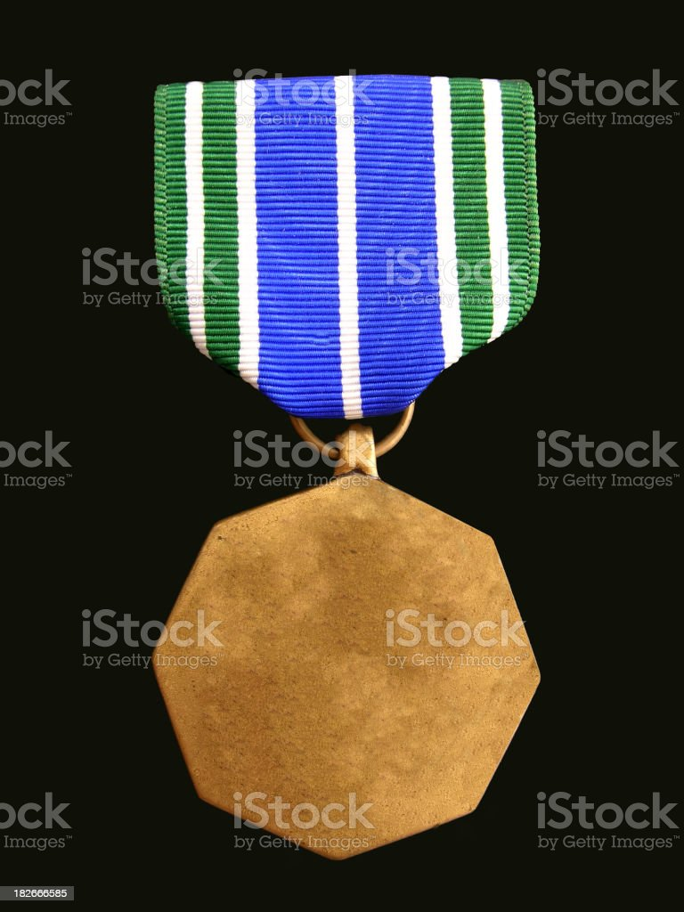 Blank Medal royalty-free stock photo