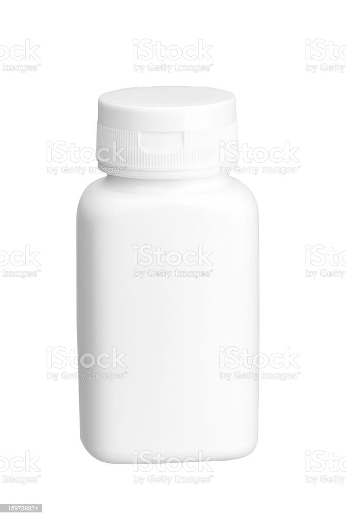Blank Medicine Bottle royalty-free stock photo