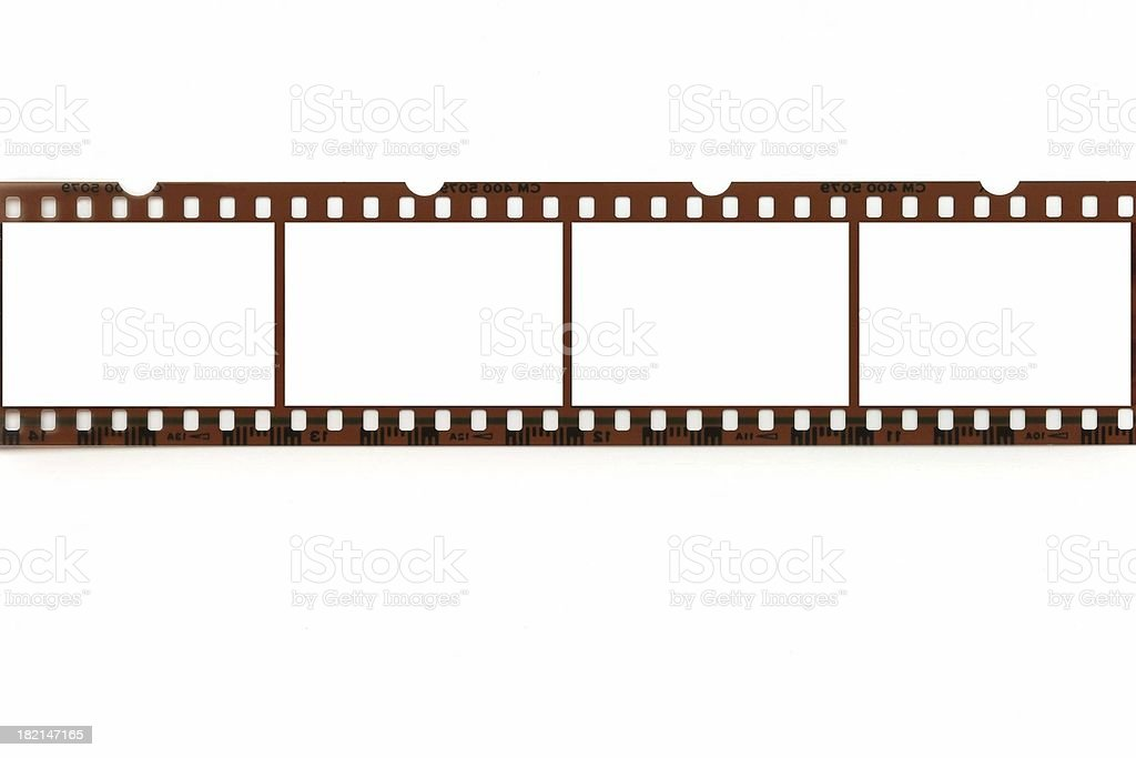 Blank Negative stock photo