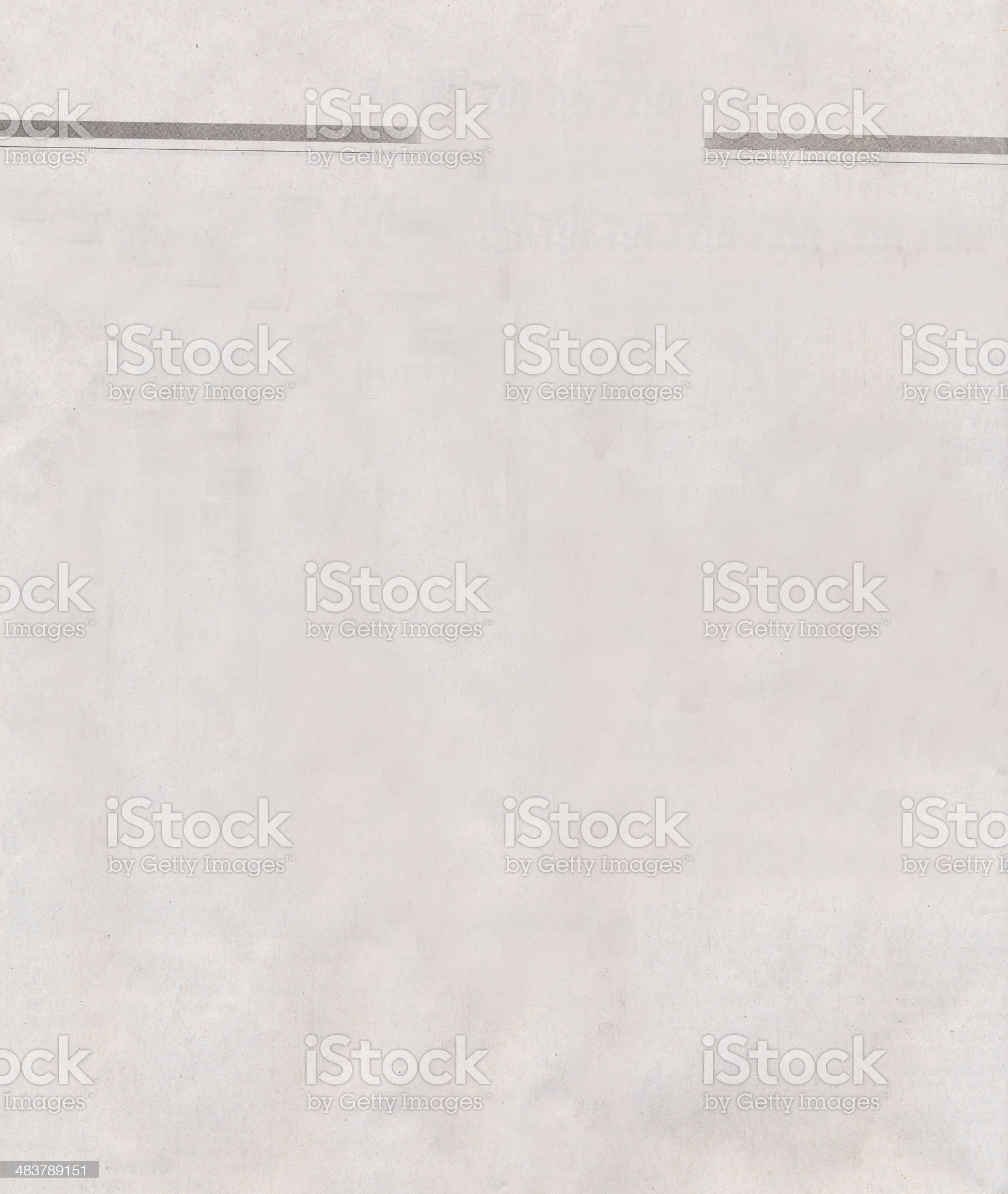 blank newspaper paper royalty-free stock photo