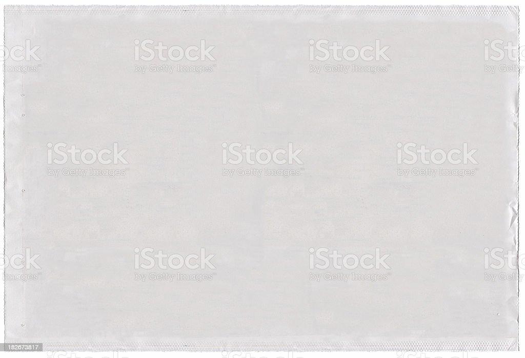 Blank newspaper stock photo