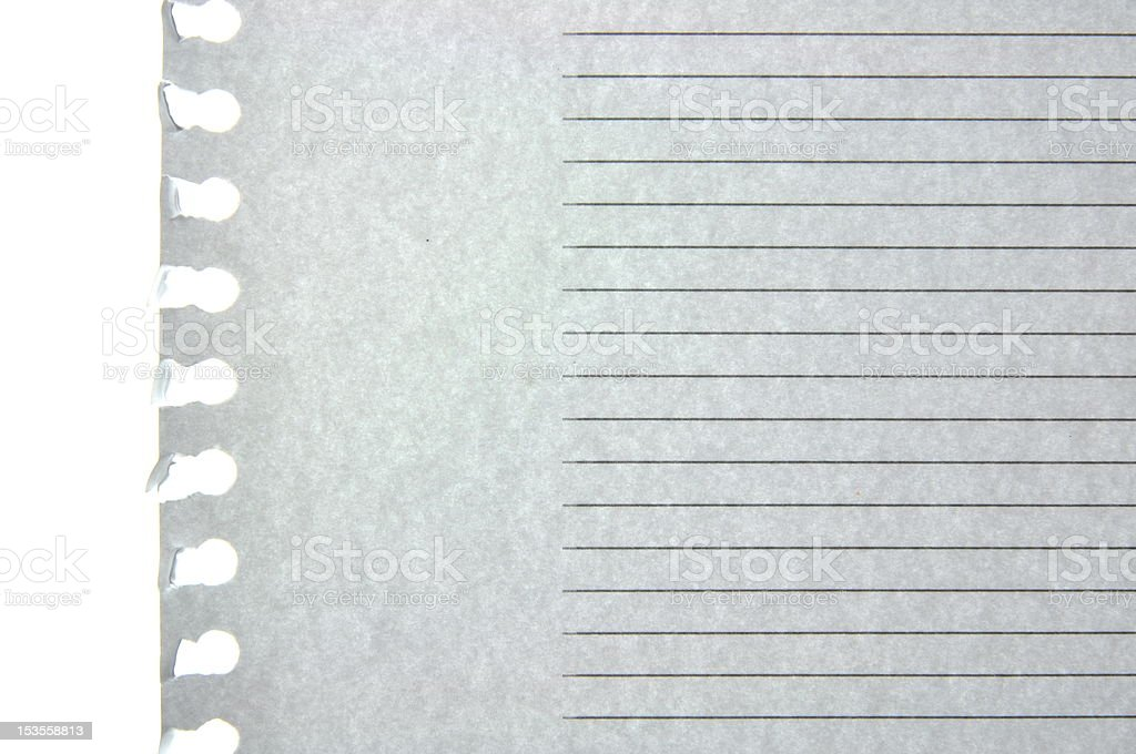 Blank note paper royalty-free stock photo