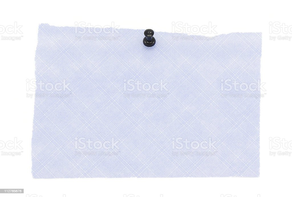 Blank note royalty-free stock photo