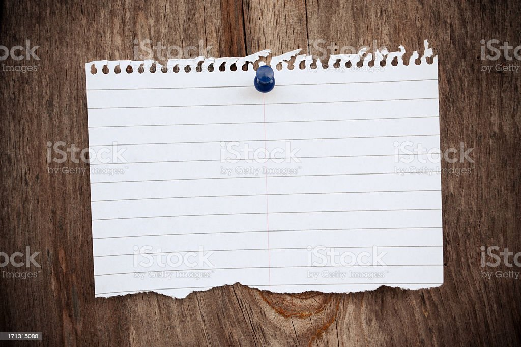 Blank Notebook page background textured royalty-free stock photo