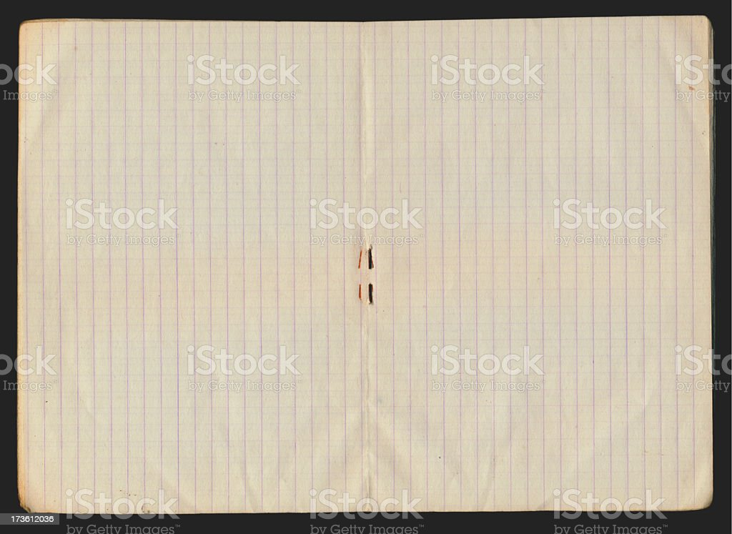 Blank notebook XXL royalty-free stock photo