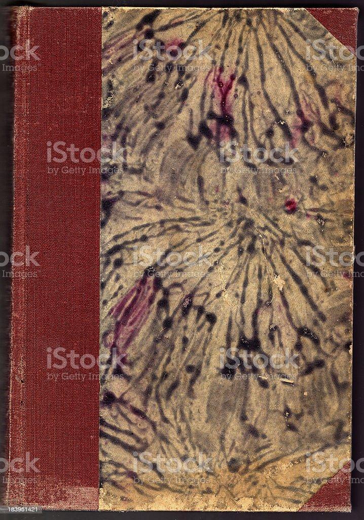 Cubierta de libro blanco antiguo foto de stock libre de derechos