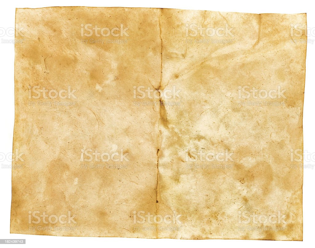 blank old book page royalty-free stock photo