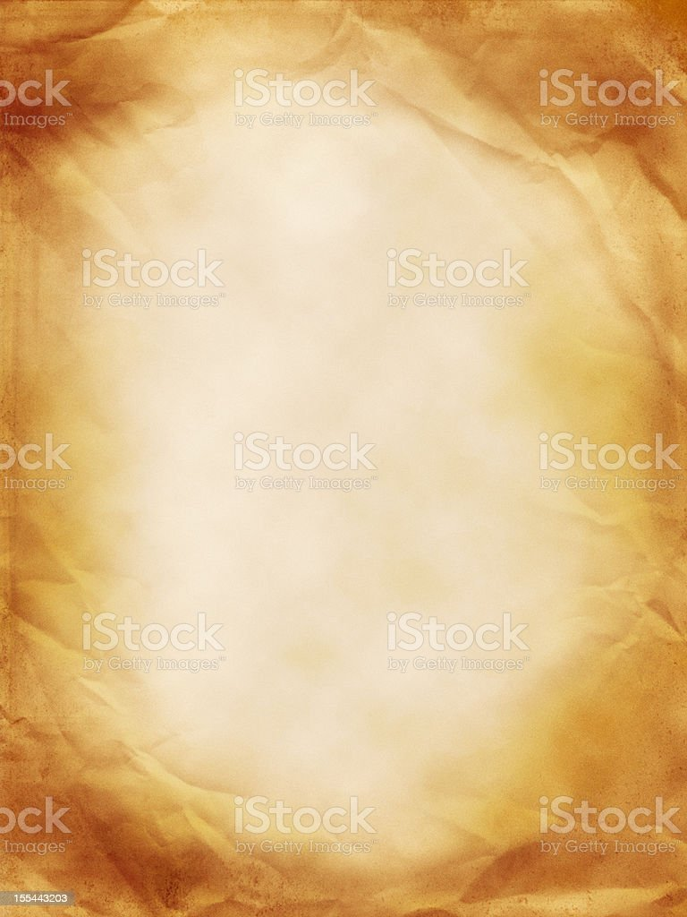 Blank Old Paper royalty-free stock photo