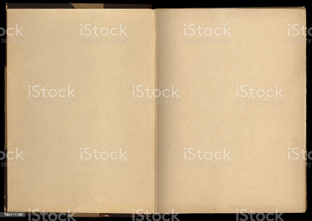 blank open book royalty-free stock photo