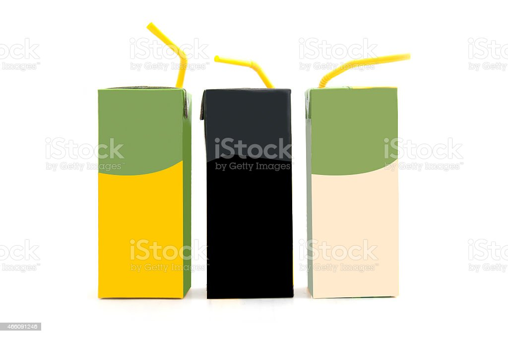 blank pack of drink ready for your design stock photo