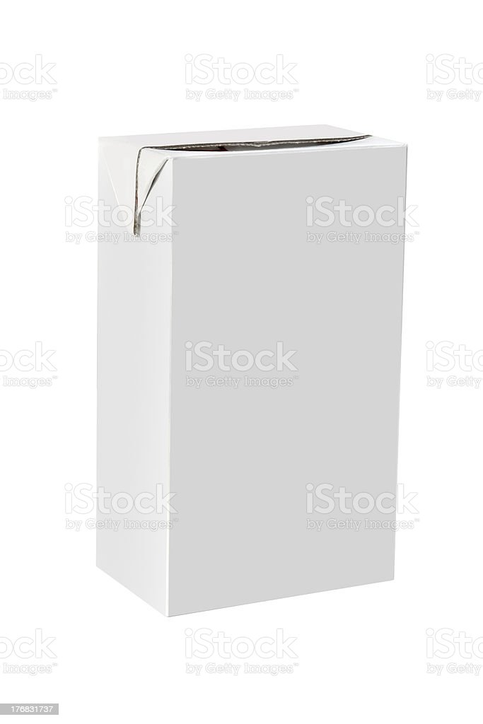 Blank packaging royalty-free stock photo