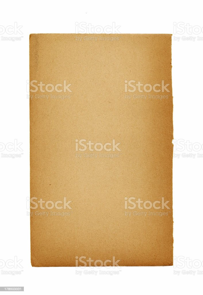 Blank page of an ancient book royalty-free stock photo