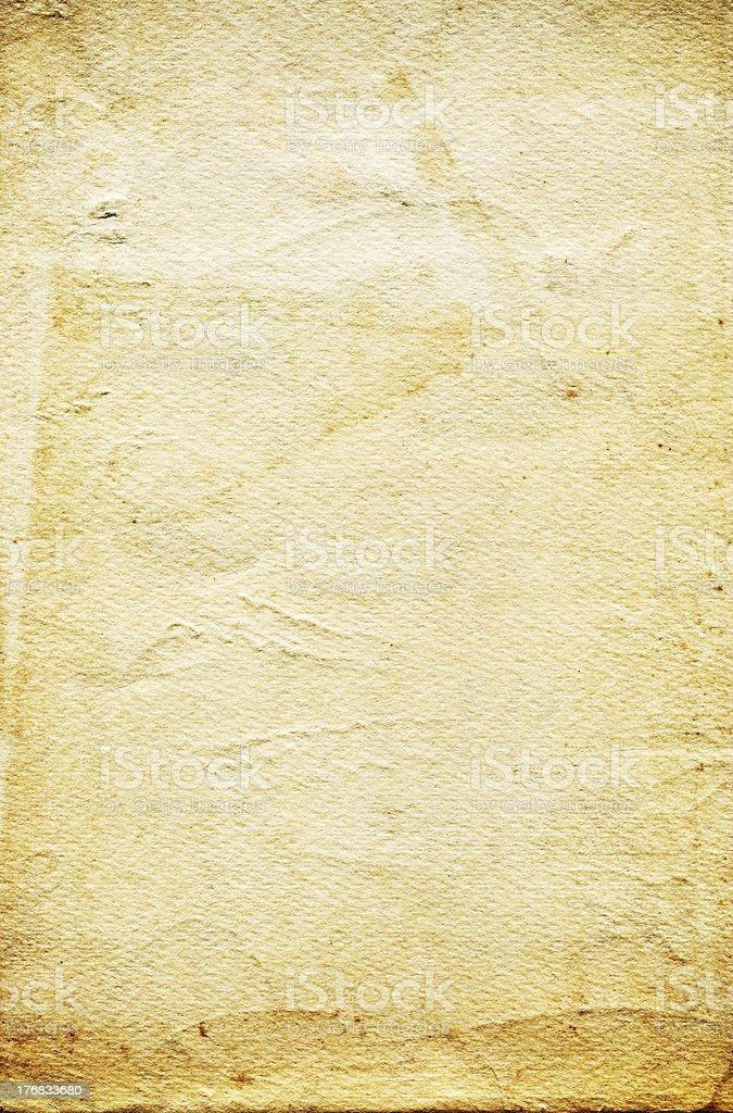 Blank paper background with copyspace royalty-free stock photo