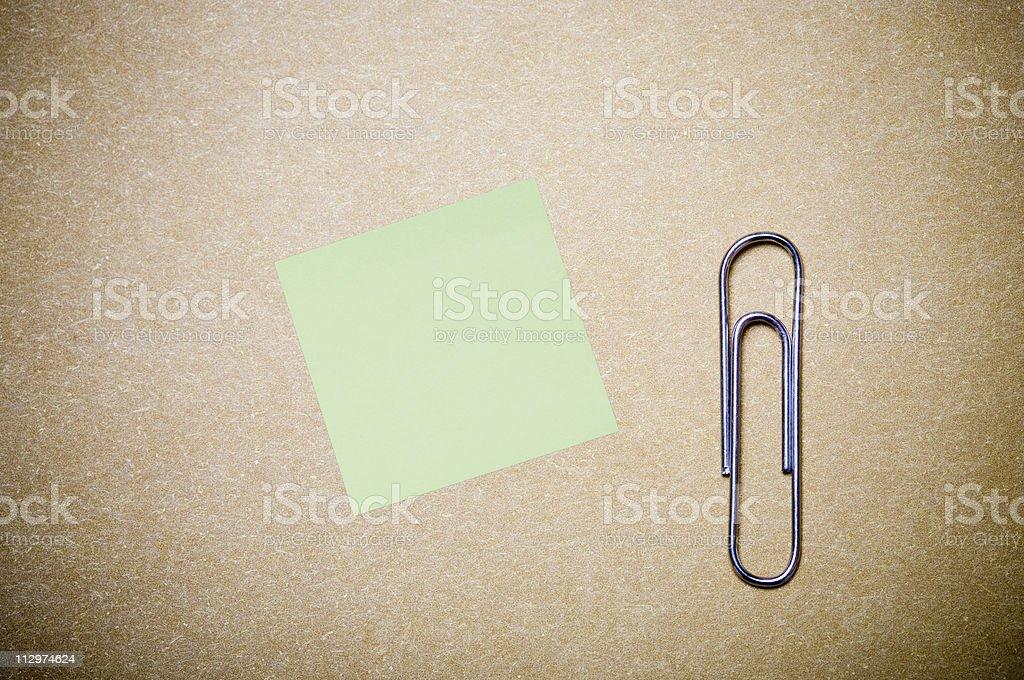 Blank paper sheet stock photo