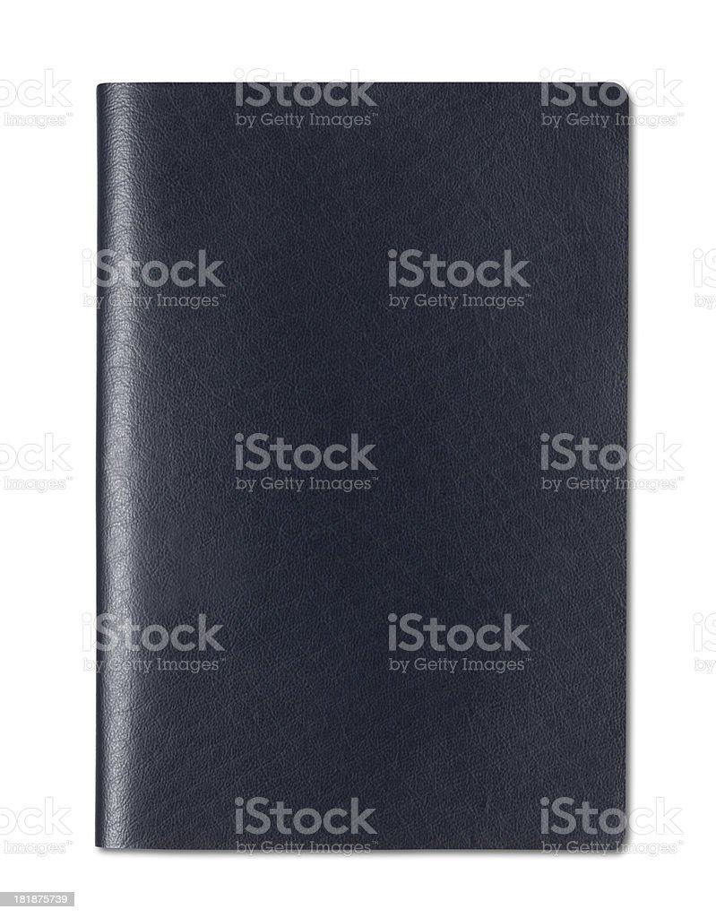 Blank Passport stock photo
