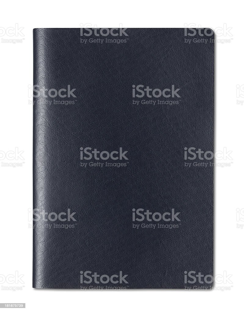 Blank Passport stock photo