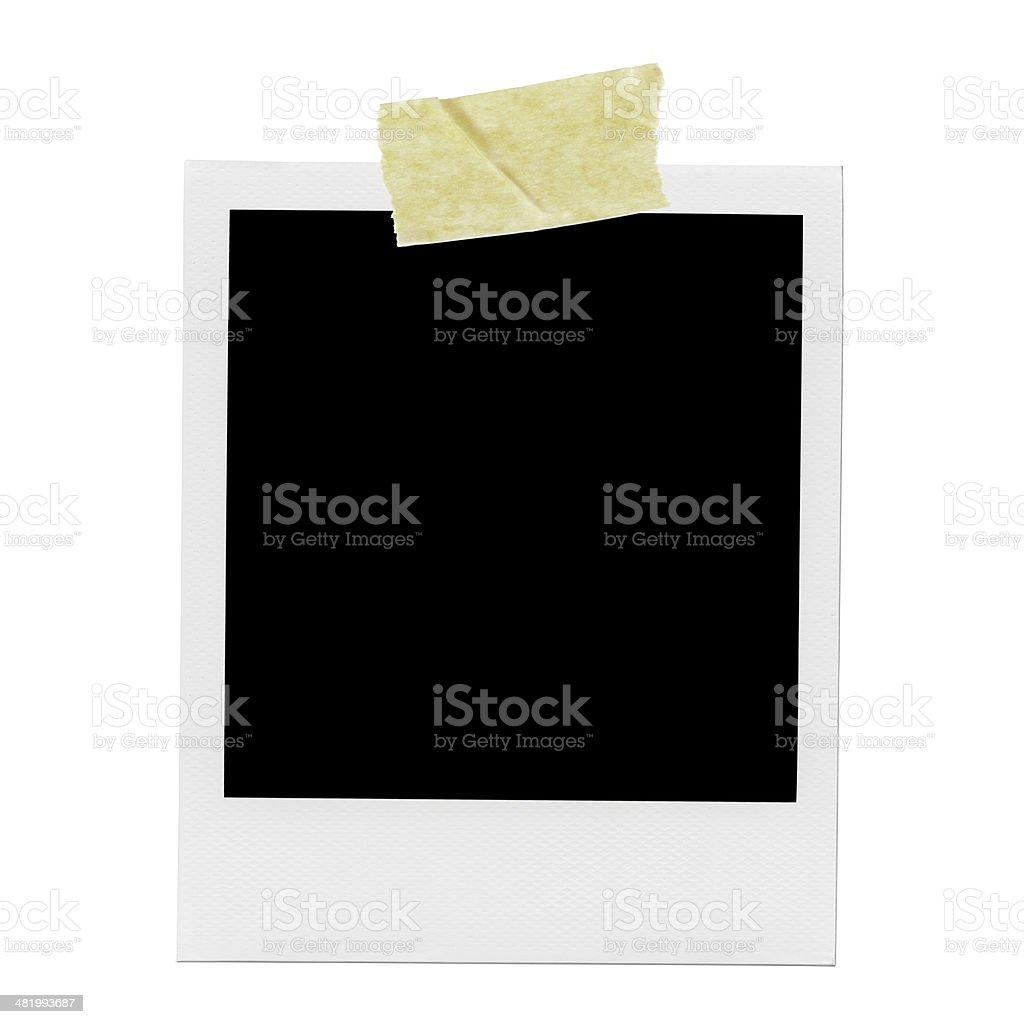Blank Photo Frame. stock photo