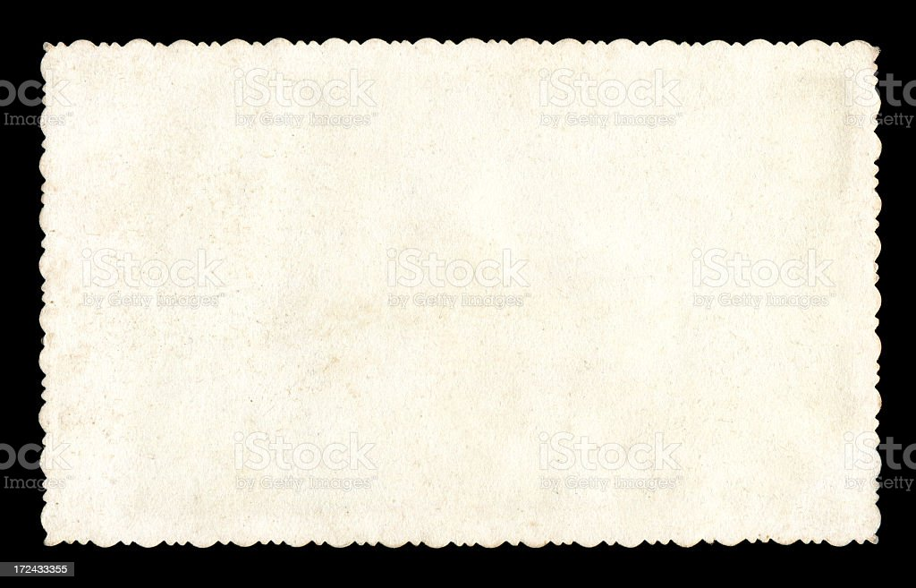 Blank photo paper textured background stock photo