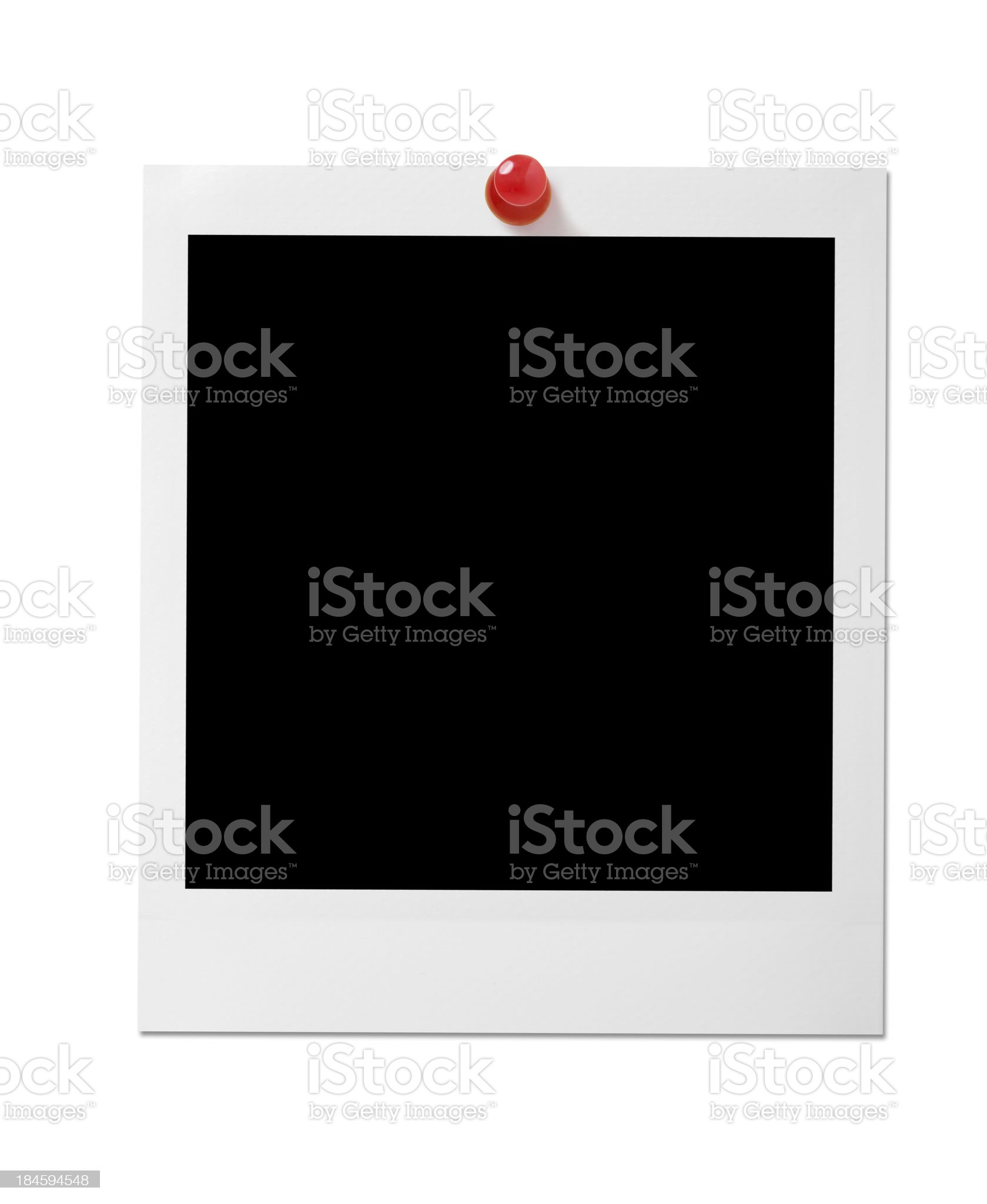 Blank photo royalty-free stock photo