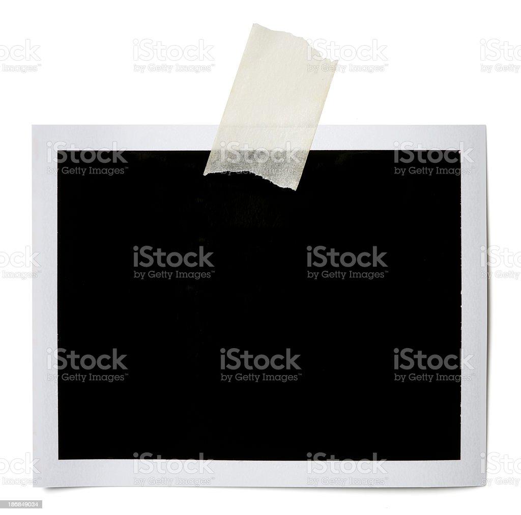 Blank photo royalty-free stock photo
