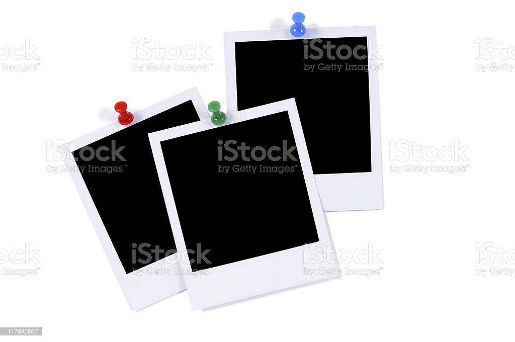 Blank photo prints royalty-free stock photo