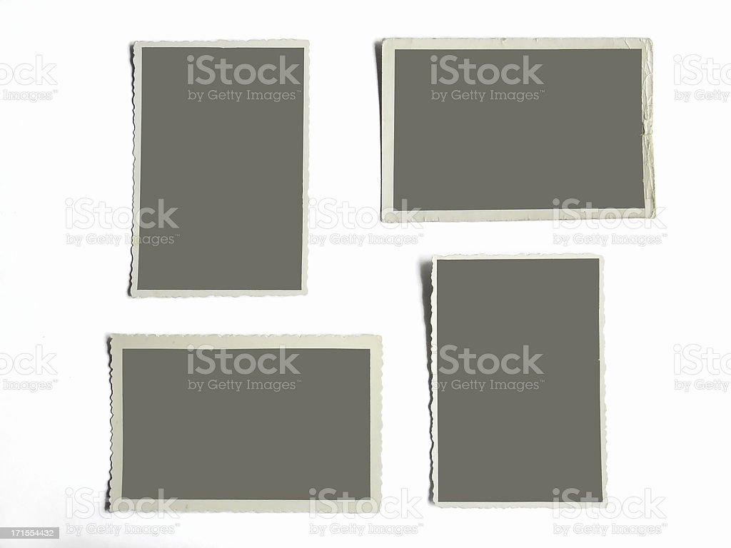 blank photoframes royalty-free stock photo
