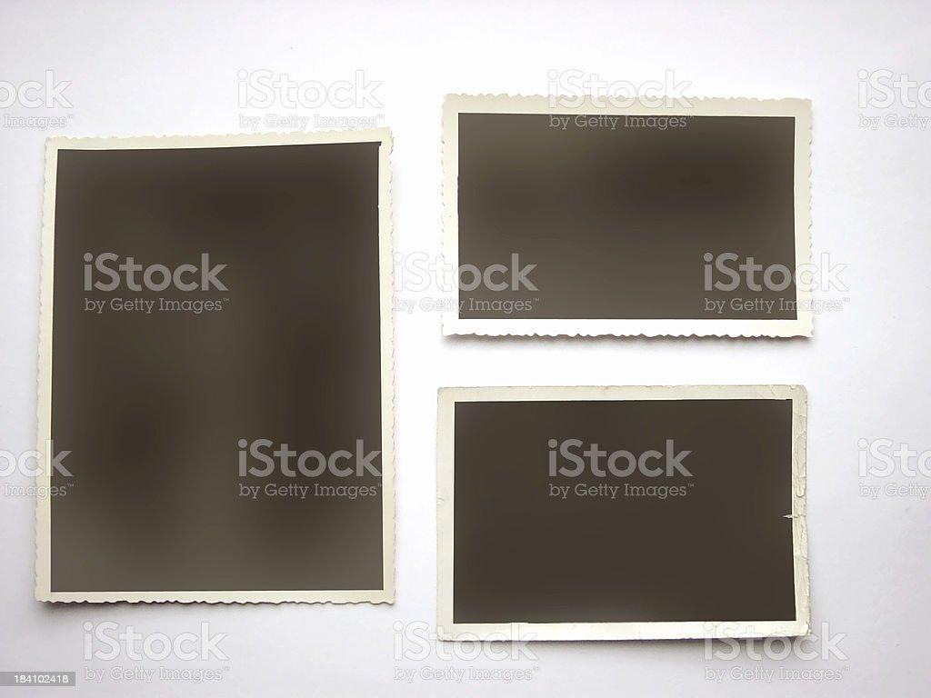 blank photoframes1 royalty-free stock photo