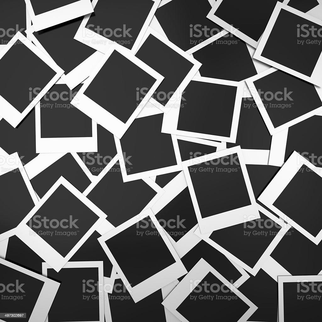 Blank photos background stock photo