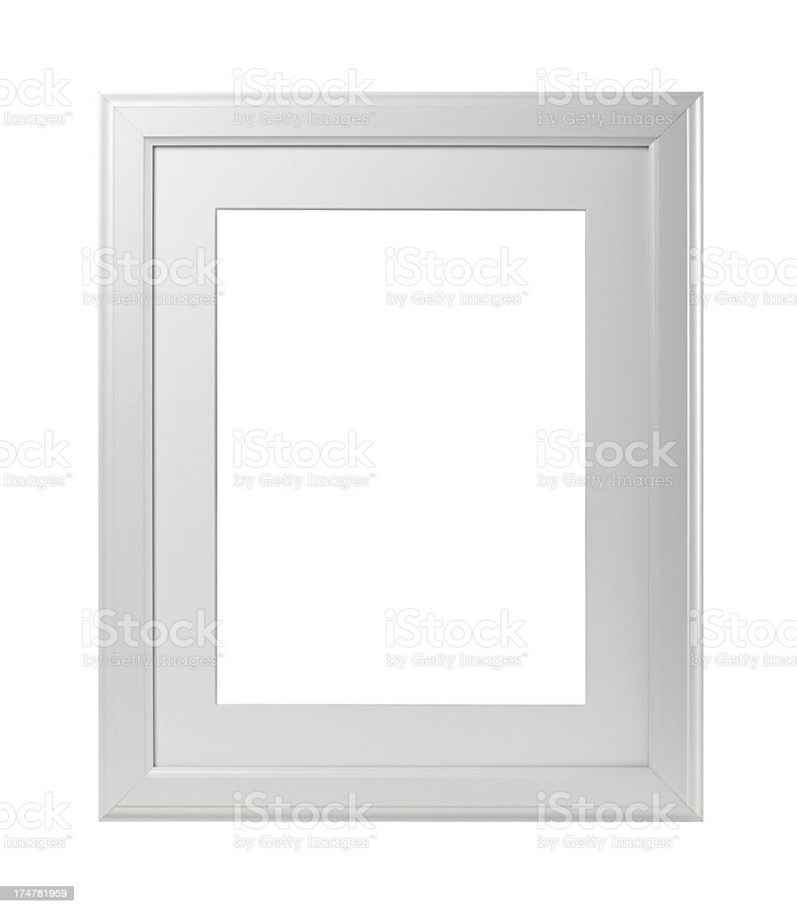 Blank picture frame royalty-free stock photo