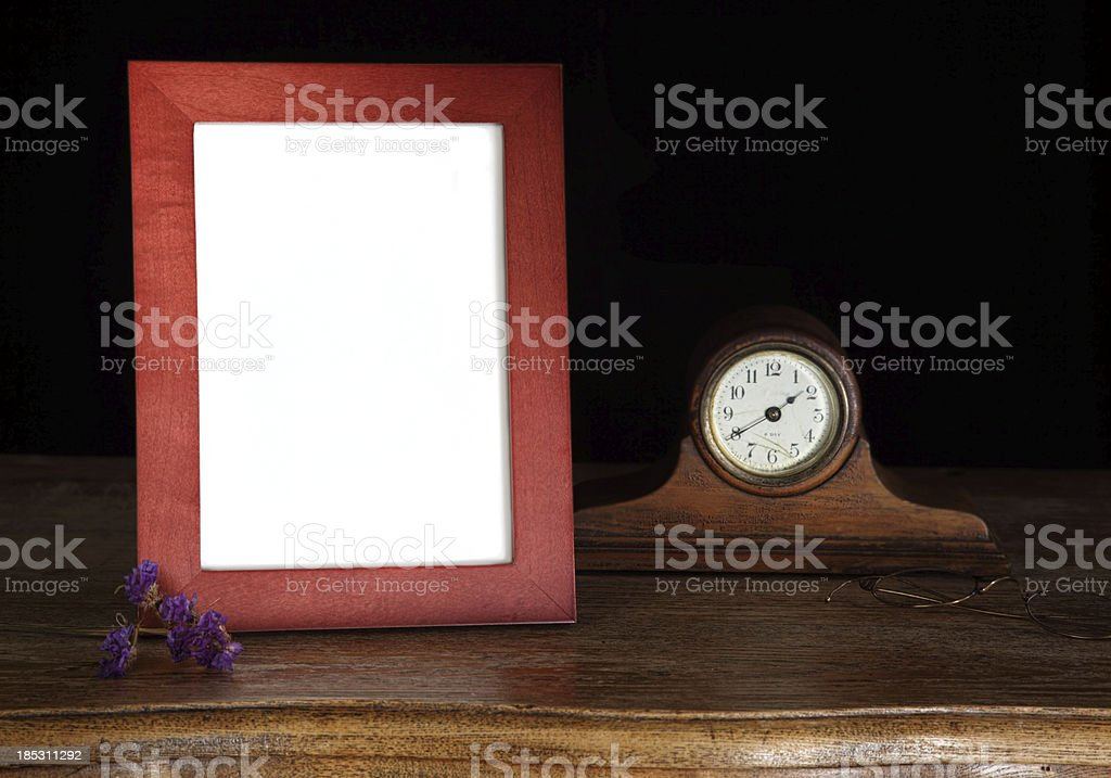 Blank Picture Frame with Copy Space stock photo