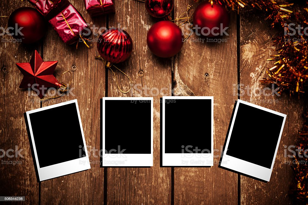 Blank Picture Frames stock photo