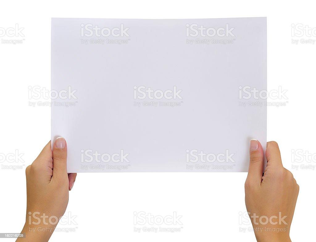 Blank stock photo