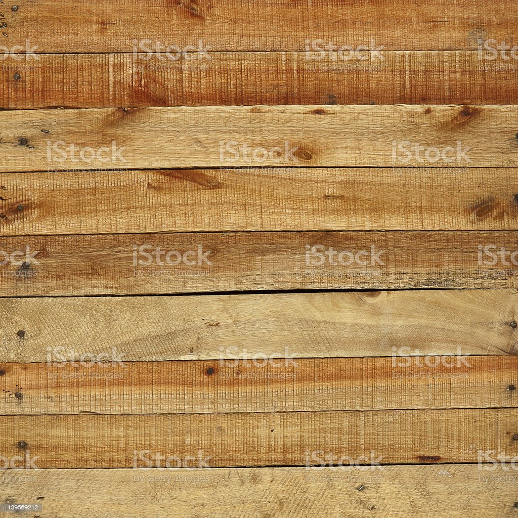 Blank pieces of wood, creating a sign  royalty-free stock photo