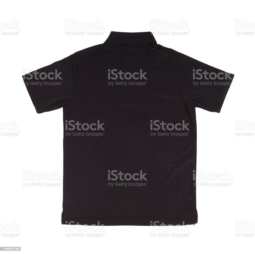 blank polo shirt stock photo