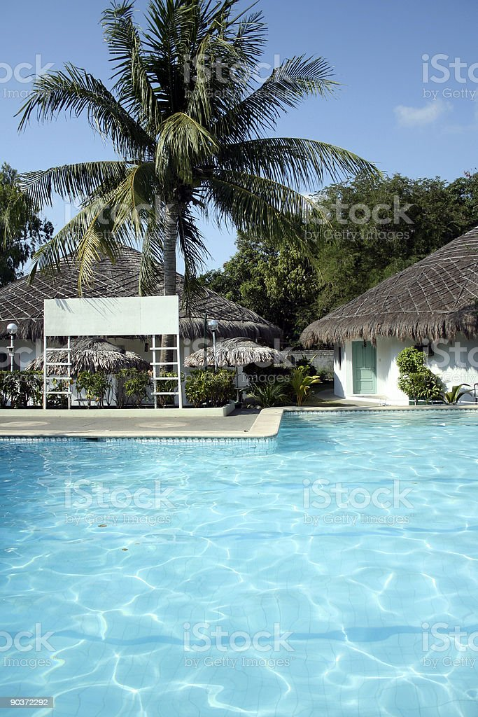blank pool sign royalty-free stock photo