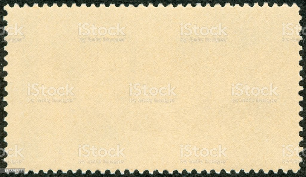 Blank postage stamp royalty-free stock photo