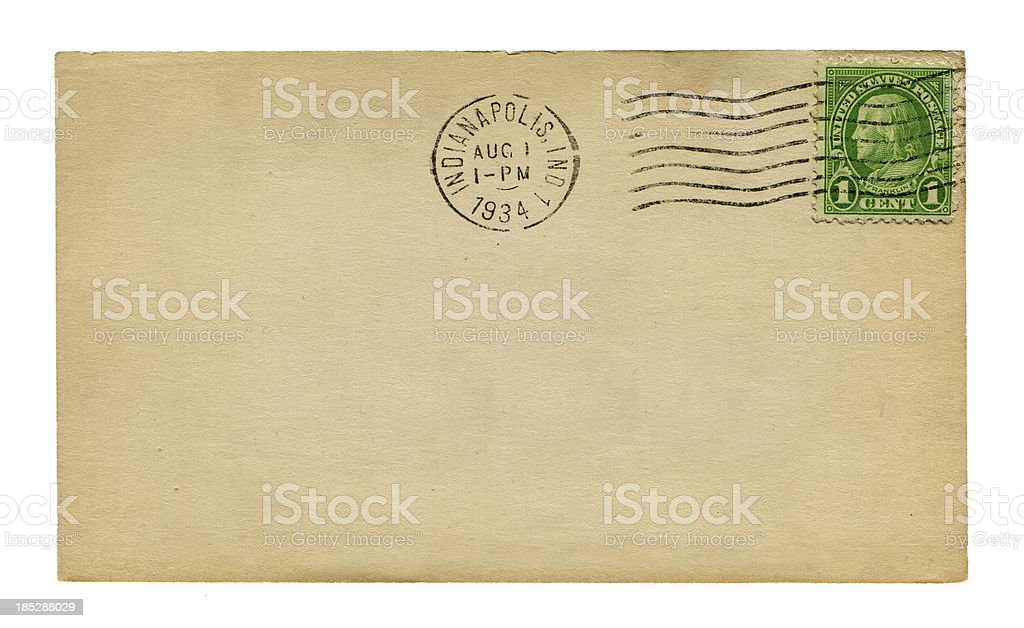 blank postcard of America (XXXLarge) royalty-free stock photo