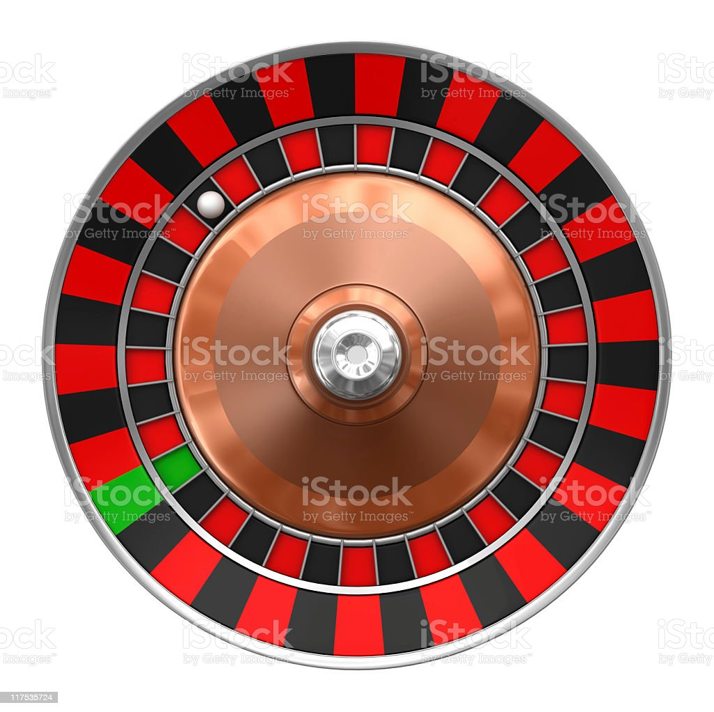 blank roulette royalty-free stock photo