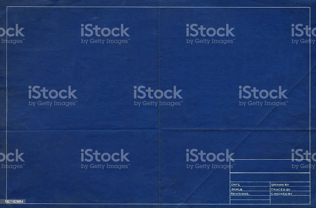 blank schematic stock photo