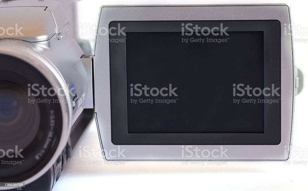 Blank Screen royalty-free stock photo