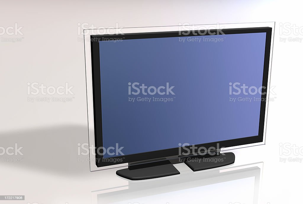 blank screen series 009 royalty-free stock photo