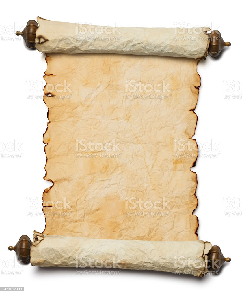 Blank Scroll stock photo 471092999 | iStock