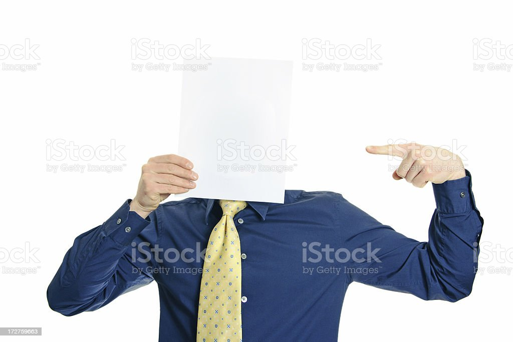 Blank series royalty-free stock photo