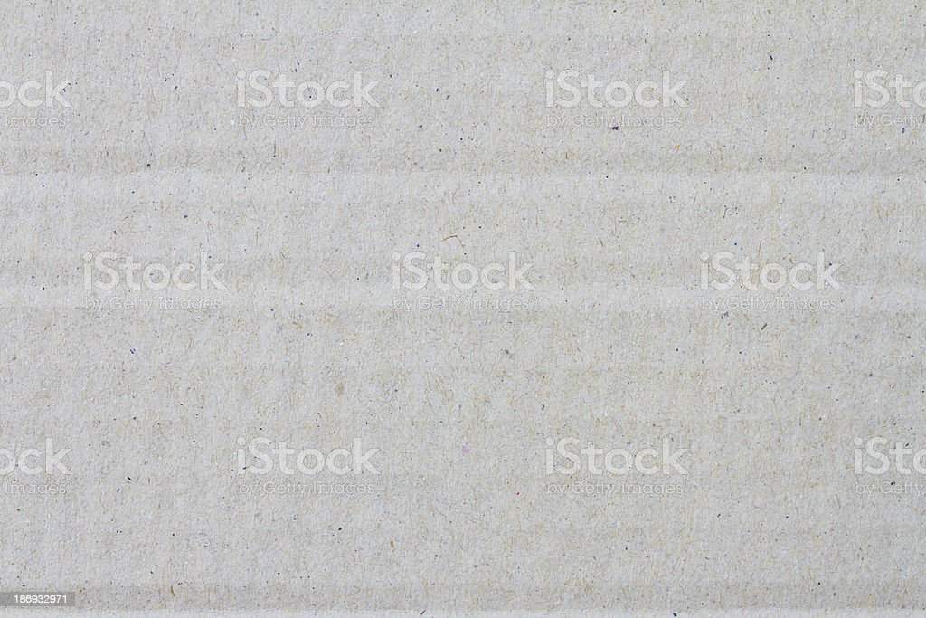 Blank sheet of brown paper royalty-free stock photo