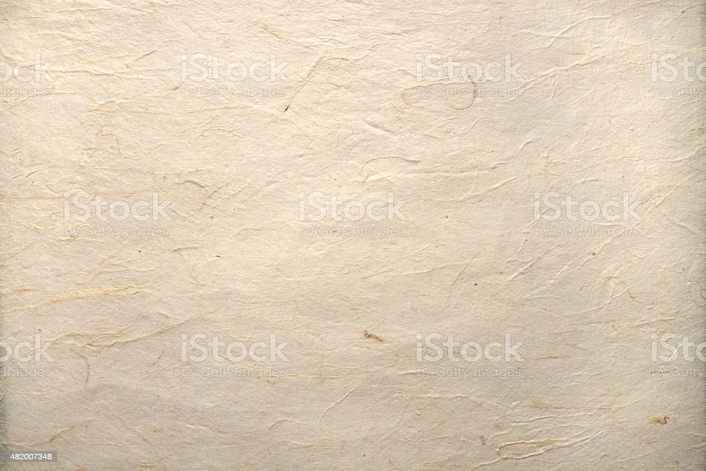 blank sheet of old parchment stock photo
