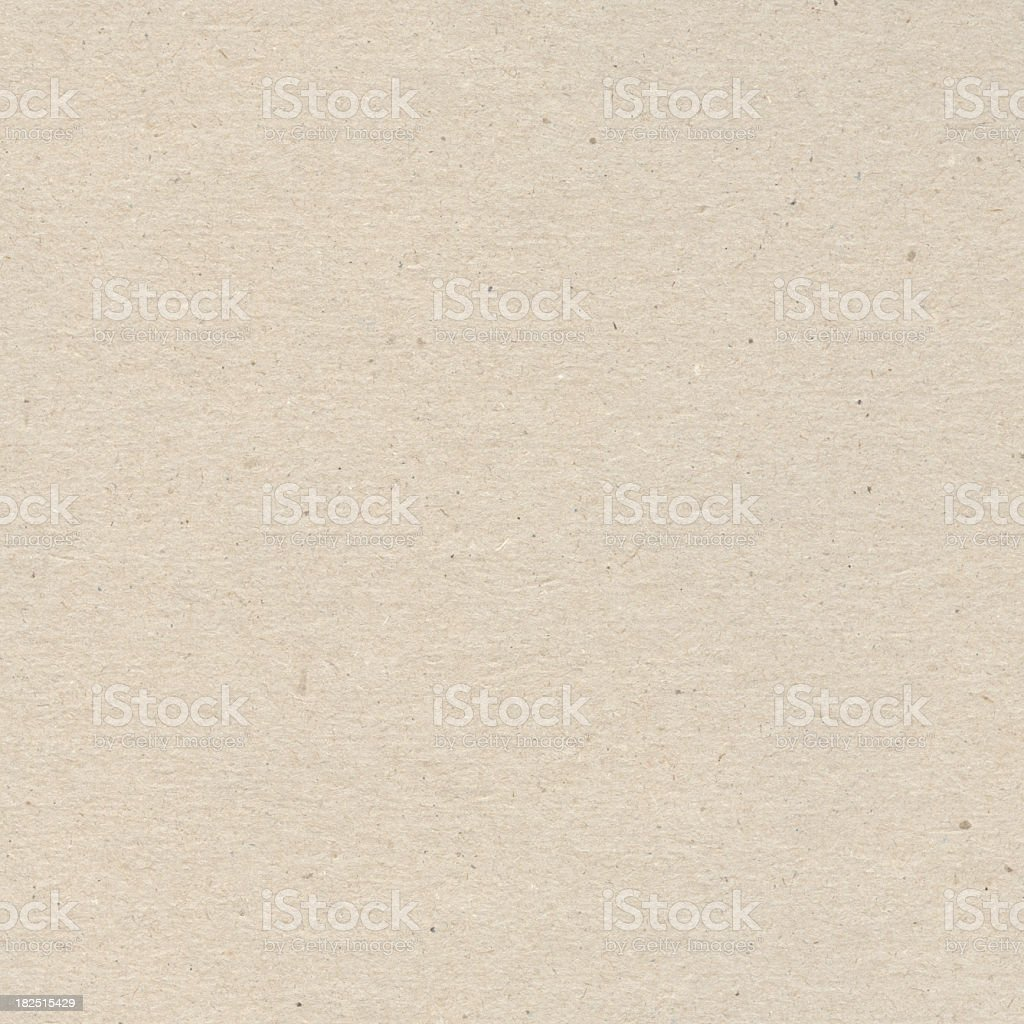 A blank sheet of unbleached recycled paper royalty-free stock photo