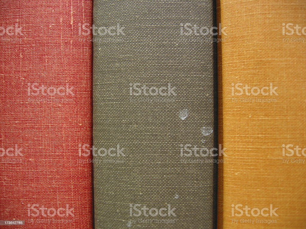 Blank sided colorful books stock photo