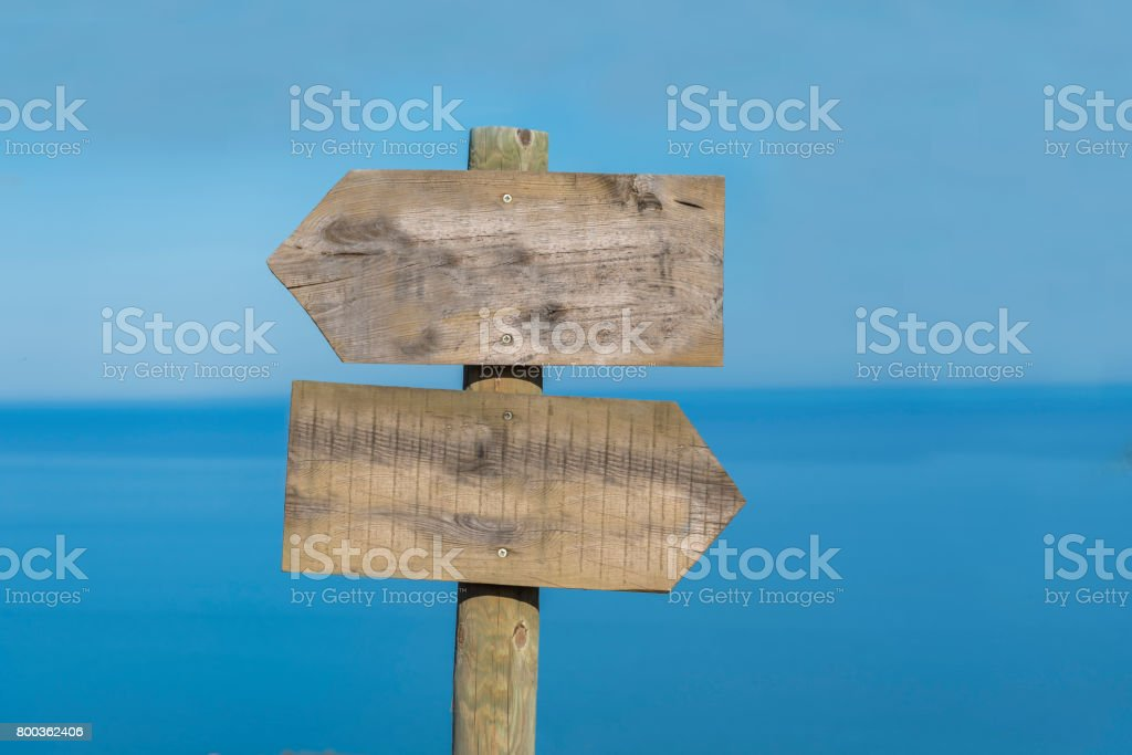 Blank sign. stock photo