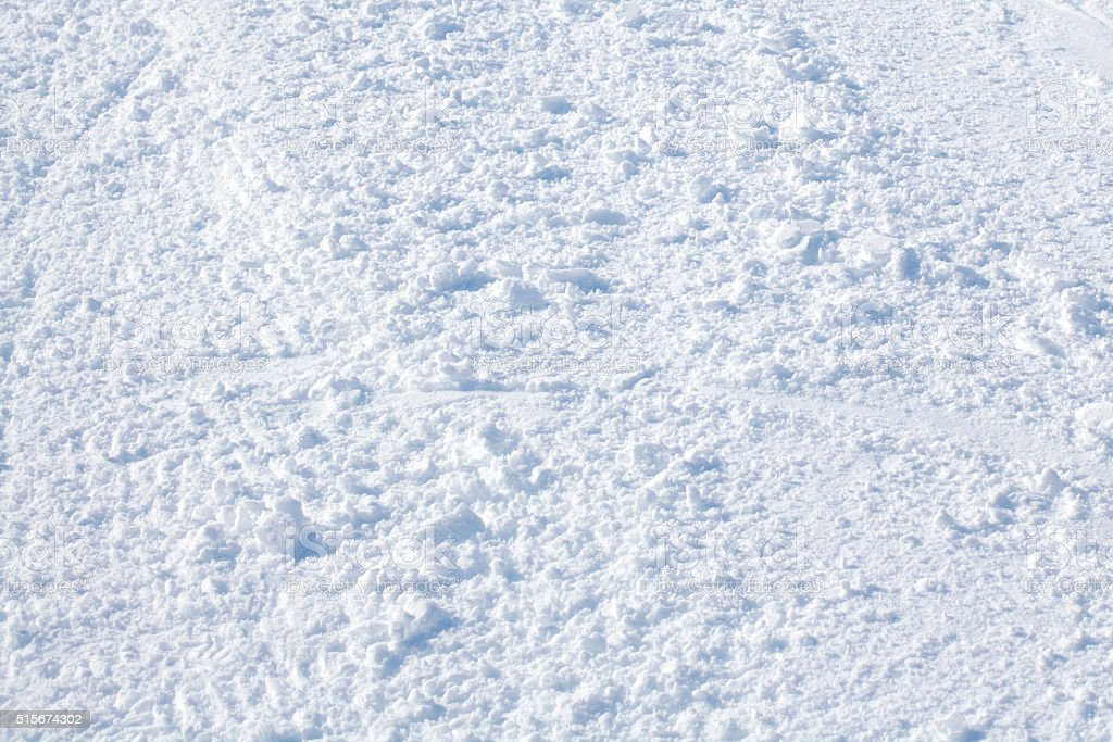 Blank ski piste background stock photo